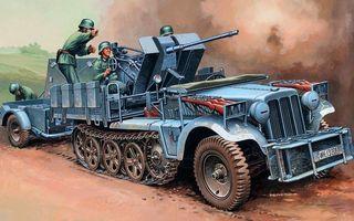 Бесплатные фото автомобиль,колеса,гусеница,цепь,солдаты,немцы,воины