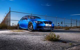 Заставки bmw, синий, металлик