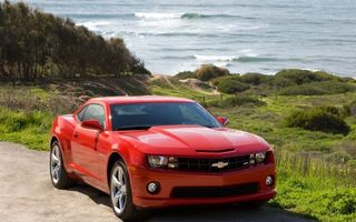 Бесплатные фото chevrolet,camaro,красный,машины