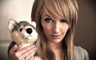 Фото бесплатно девушка, прическа, волосы