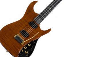 Заставки гитара, электро, коричневая