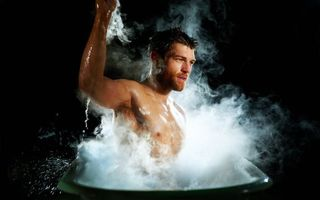 Photo free guy, steam, bath