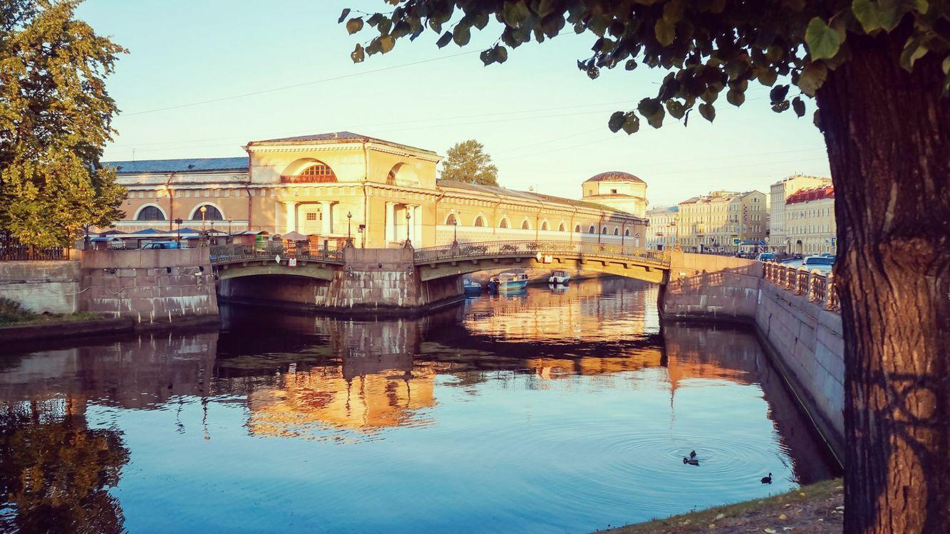 Фото бесплатно вода, город, мост - на рабочий стол