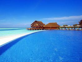 Бесплатные фото тропики,мальдивы,море,пляж,курорт,бассейн,пейзажи
