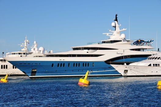 Photo free yacht, sun, rays