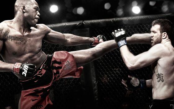 Photo free kickboxing, ring, fight