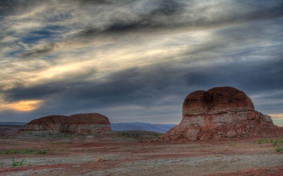Фото бесплатно скалы, красные, глыбы
