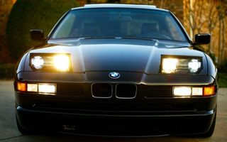 Photo free BMW, headlights, light