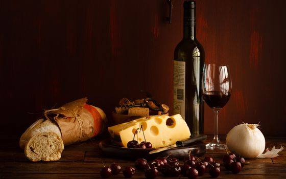 Photo free bottle, wine, red