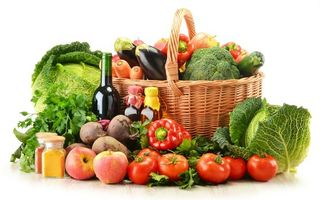 Photo free basket, vegetables, tomatoes