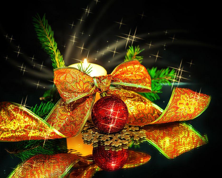 Фото бесплатно новый год, новогодние обои, украшения, Рождество, фон, дизайн, новый год