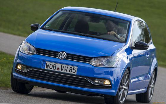 Бесплатные фото vw,голубой,дороа,машины