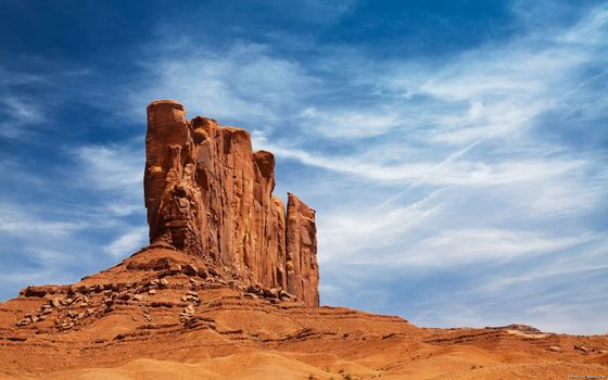Photo free rock, desert, sky
