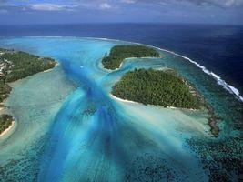 Фото бесплатно острова, берег, океан