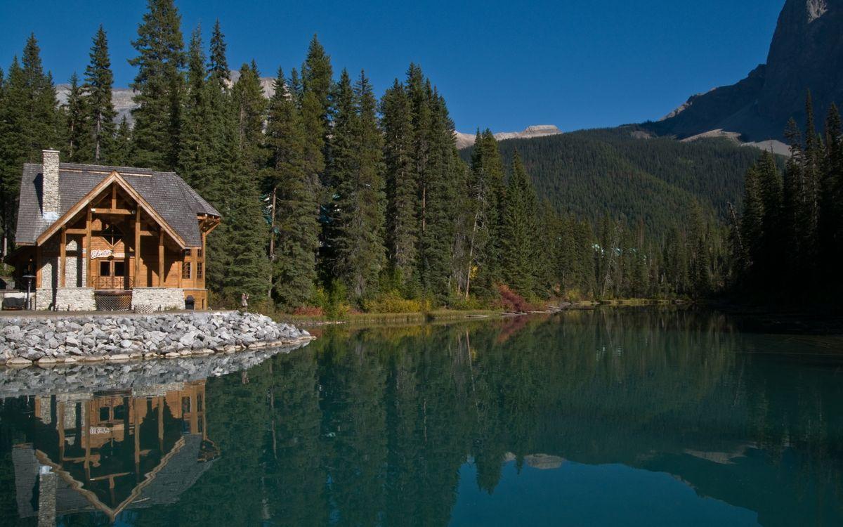 Фото бесплатно дом, дача, горы - на рабочий стол