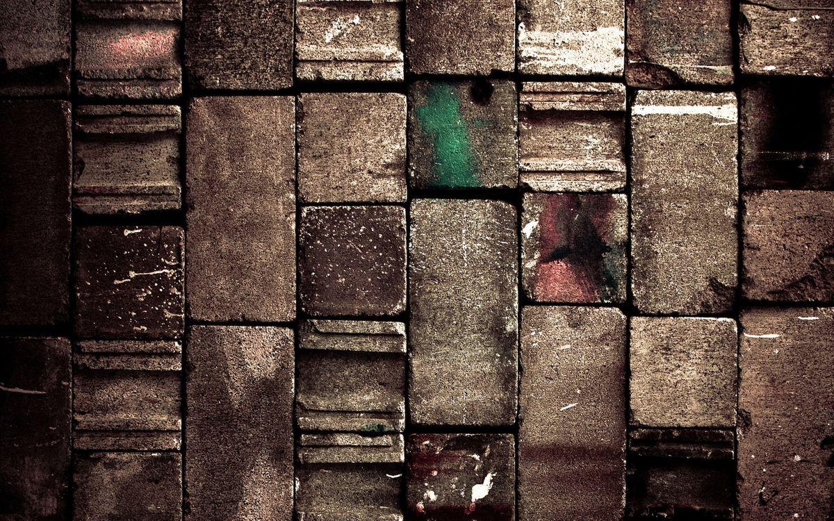 Фото бесплатно кирпич, стена, рельеф - на рабочий стол