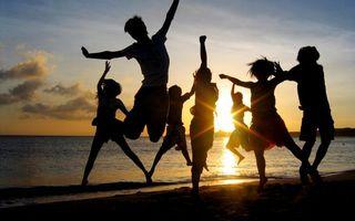 Бесплатные фото люди, пляж, берег, лето, закат, солнце, море