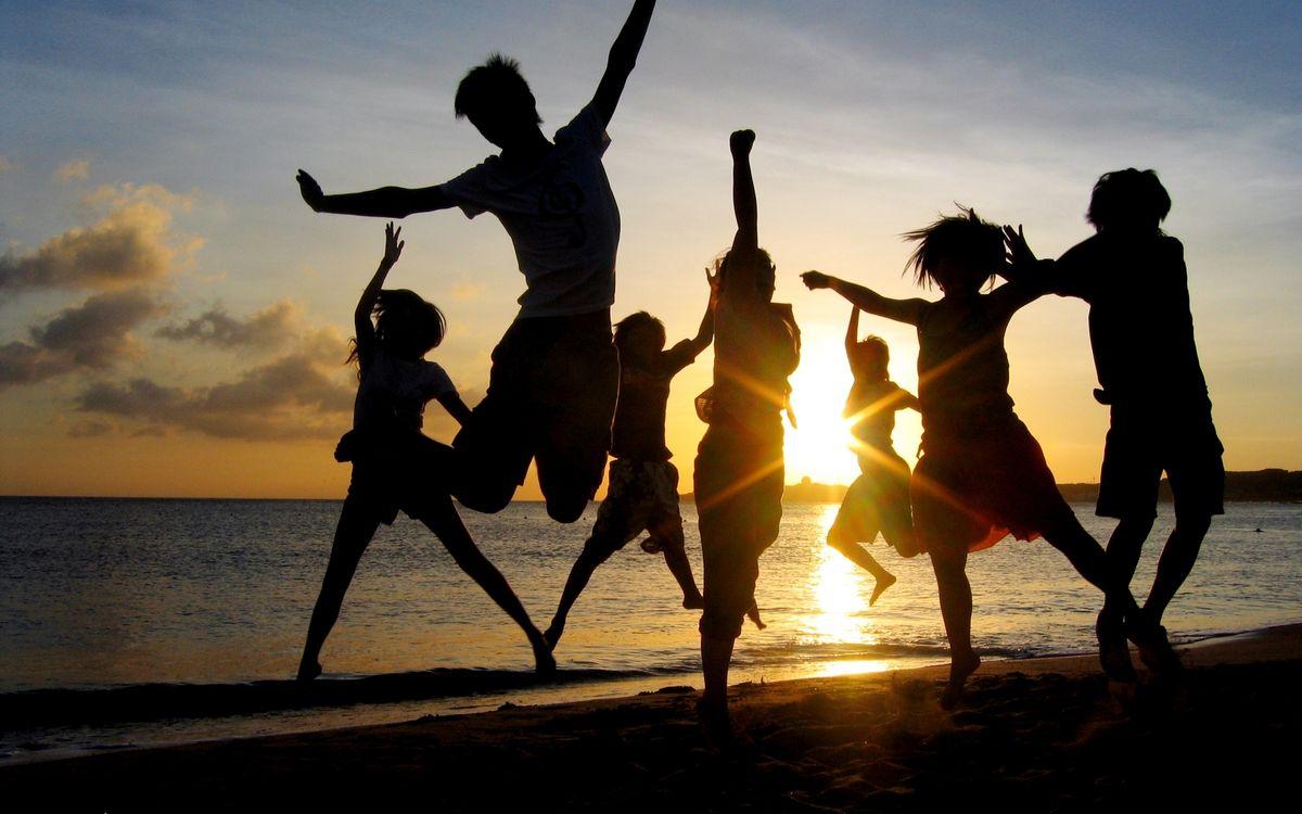 Фото бесплатно люди, пляж, берег - на рабочий стол