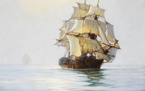 Photo free sea, carabli, sails