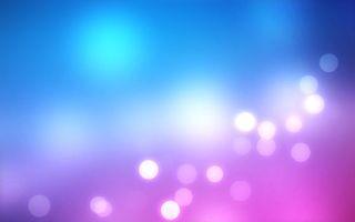 Обои обои, заставка, картинка, шары, свет, голубой, цвет, блики, градиент, абстракции, минимализм, разное