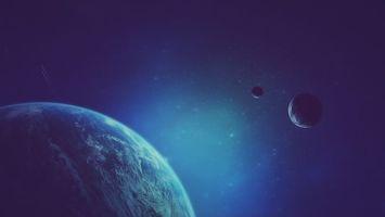 Бесплатные фото планеты,неизвестные,миры,спутники,звезды,млечный,путь