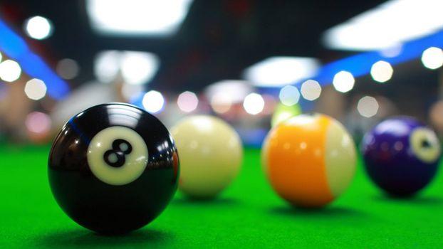 Photo free snooker, billiards, balls
