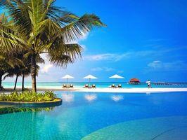 Бесплатные фото тропики,мальдивы,море,пляж,курорт,пейзажи