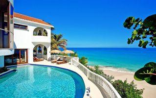 Фото бесплатно пальмы, разное, пляж