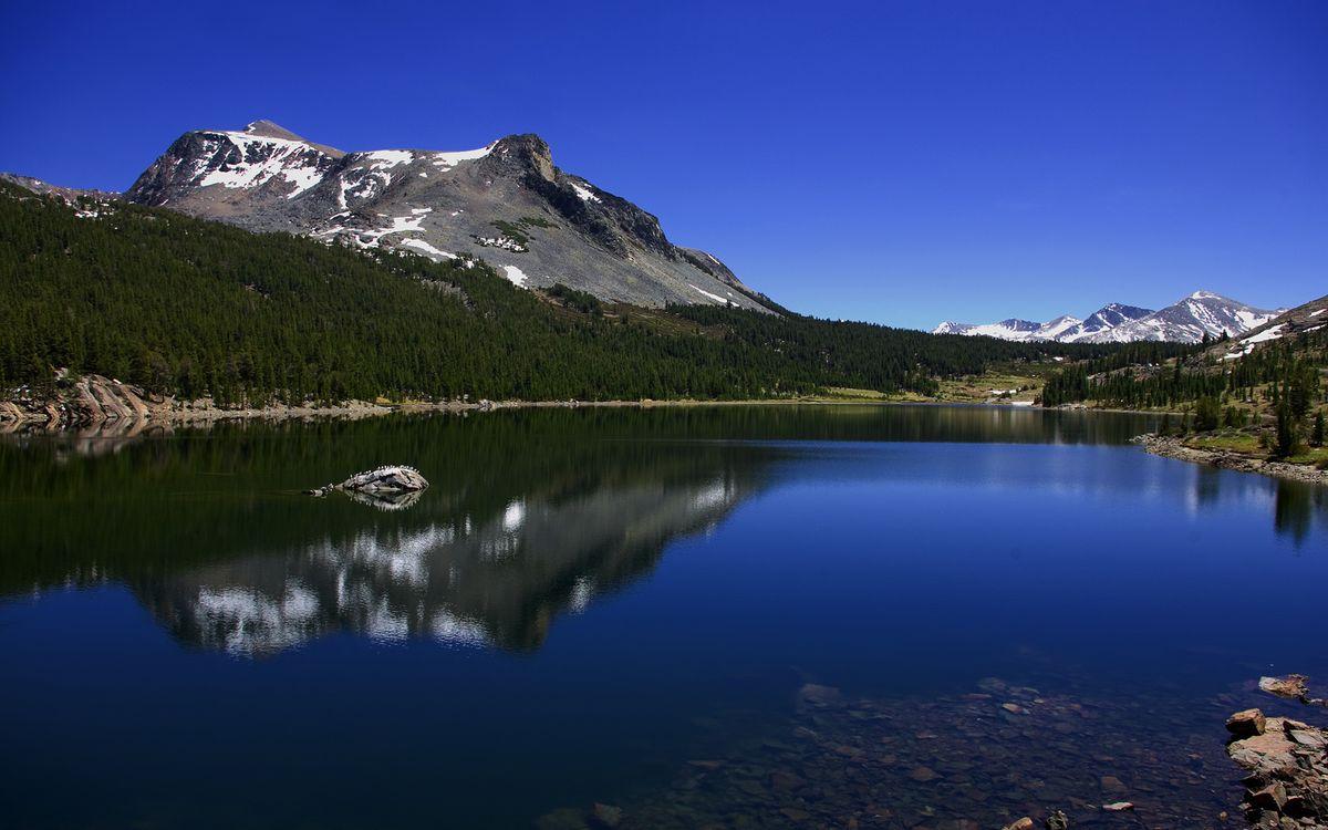 Фото бесплатно вода, река, озеро, небо, берег, горы, деревья, природа, природа