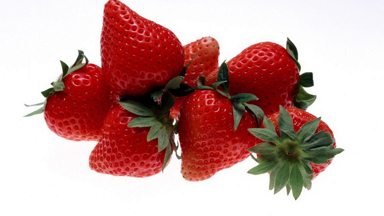 Фото бесплатно ягода, зеленый, клубничный - на рабочий стол