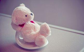Бесплатные фото игрушка,мило,малиновый,сердце,мишка,сидит,розовый