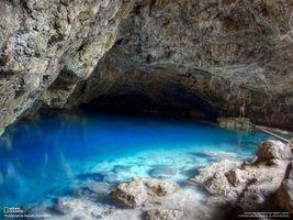 Бесплатные фото пещера,national geographic,вода,голубая,человек,природа