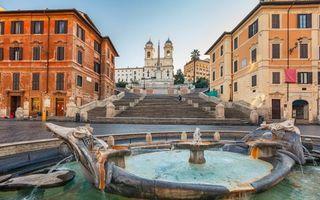 Бесплатные фото дома,лестница,колокольня,фонтан,вода,дорога,стиль