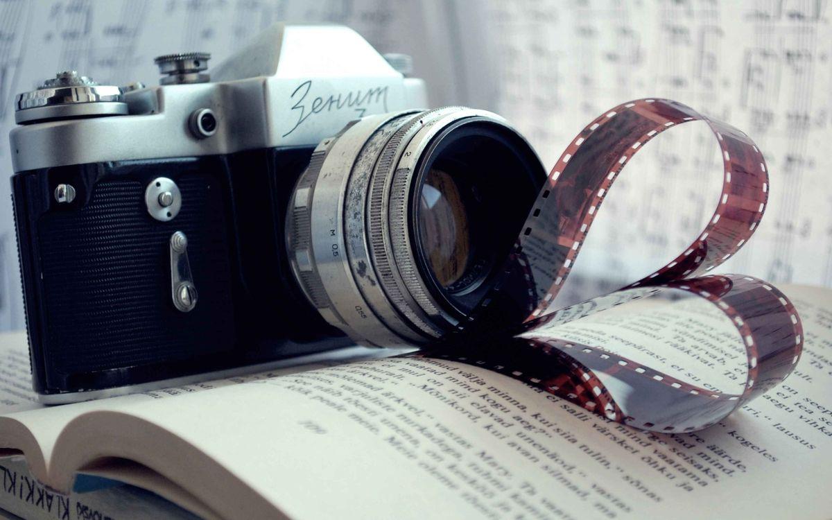 Фото бесплатно фото, объектив, пленка - на рабочий стол