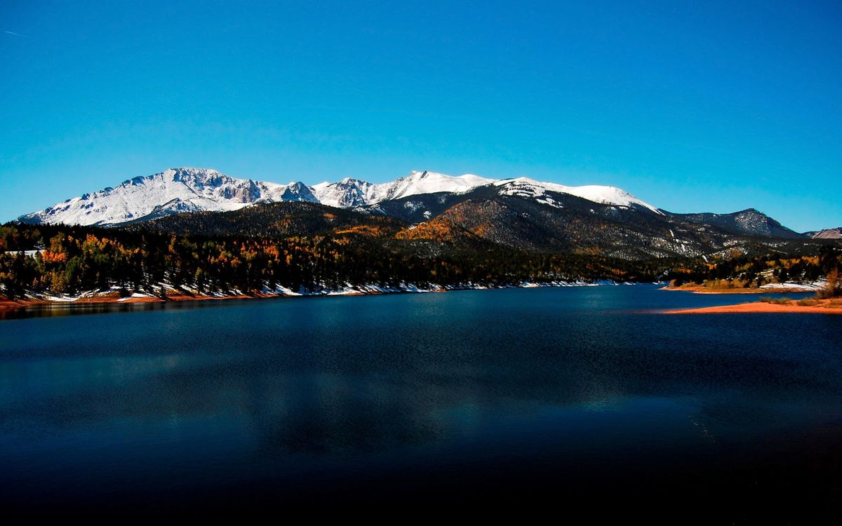 Фото бесплатно горы, холмы, снег - на рабочий стол