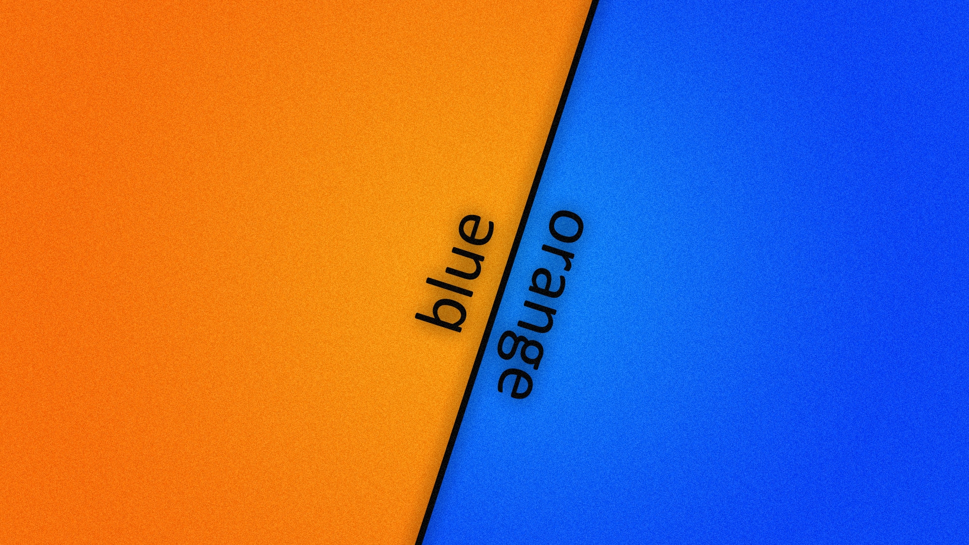надпись, blue, orange