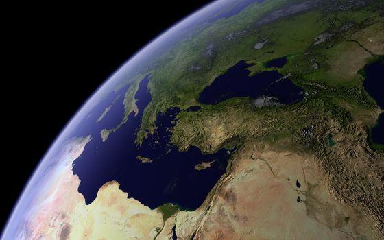 Заставки планета, земля, вид