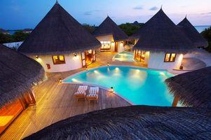 Фото бесплатно бассейн, тропики, разное