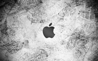 Бесплатные фото яблоко,бренд,стив джобс,лицо,следы,разное