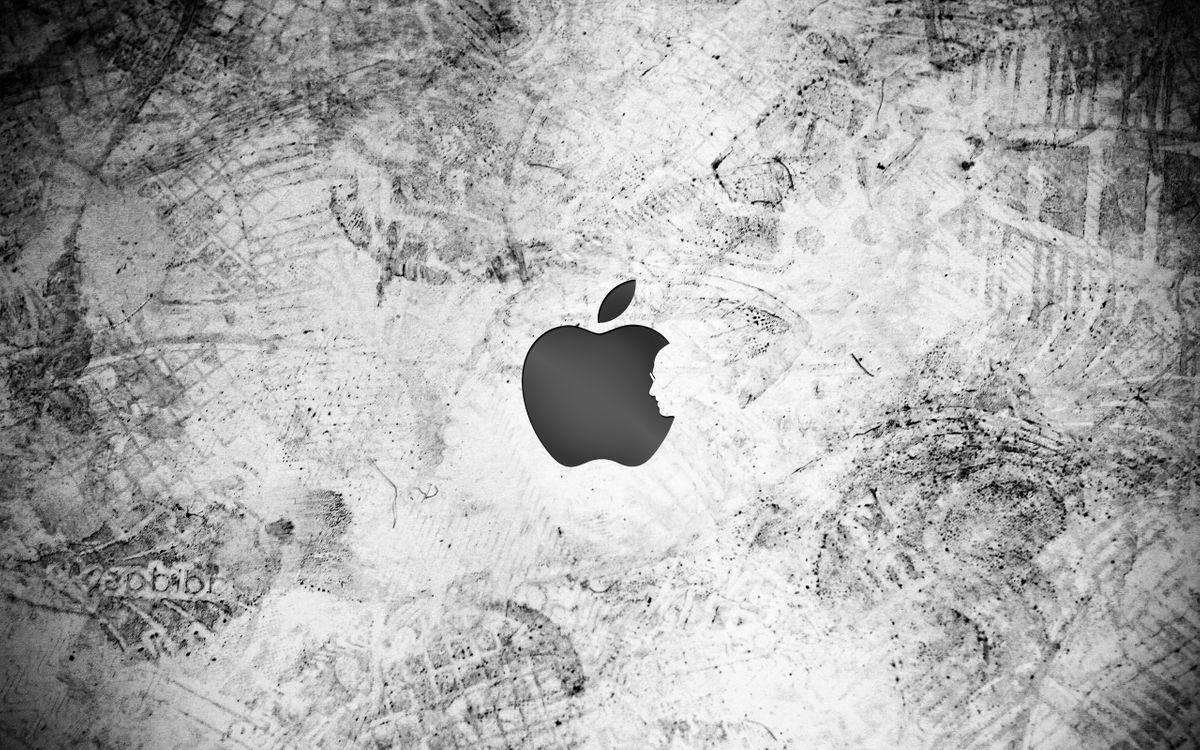 Фото бесплатно яблоко, бренд, стив джобс, лицо, следы, разное, разное