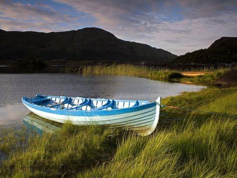 Фото бесплатно лодка, на берегу, реки