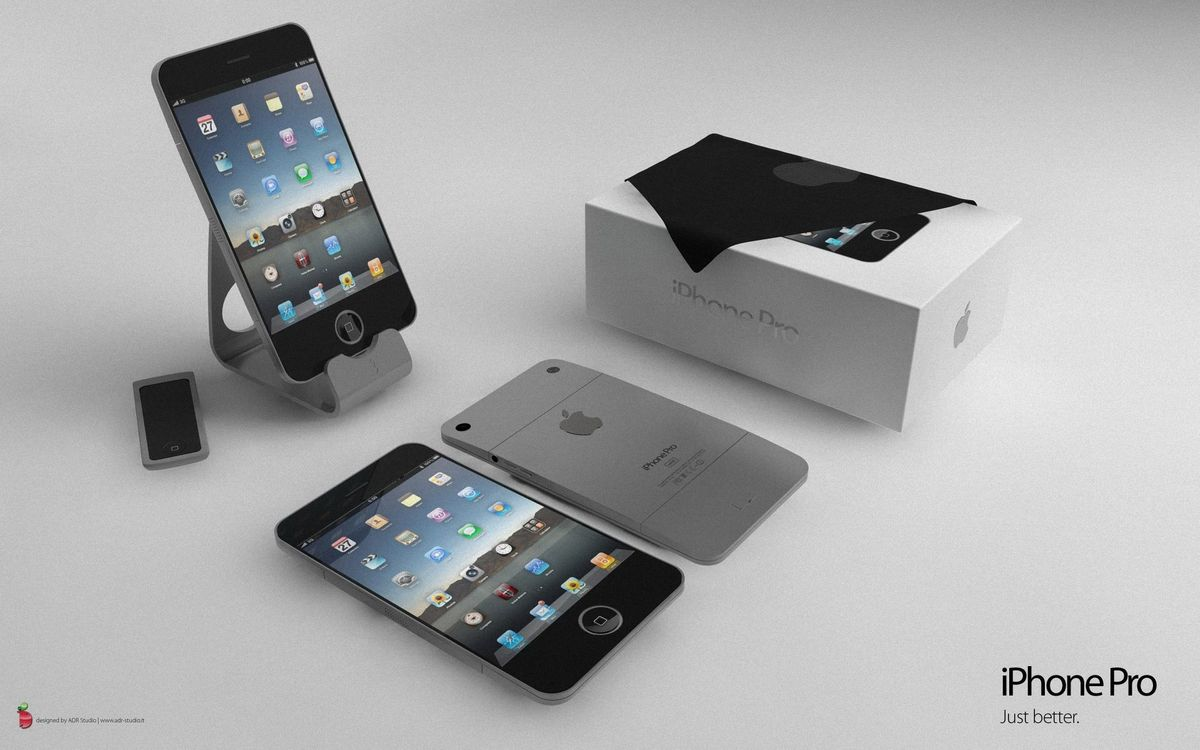 Фото бесплатно айфон, телефон, коробка, гаджет, технологии, иконки, hi-tech, hi-tech