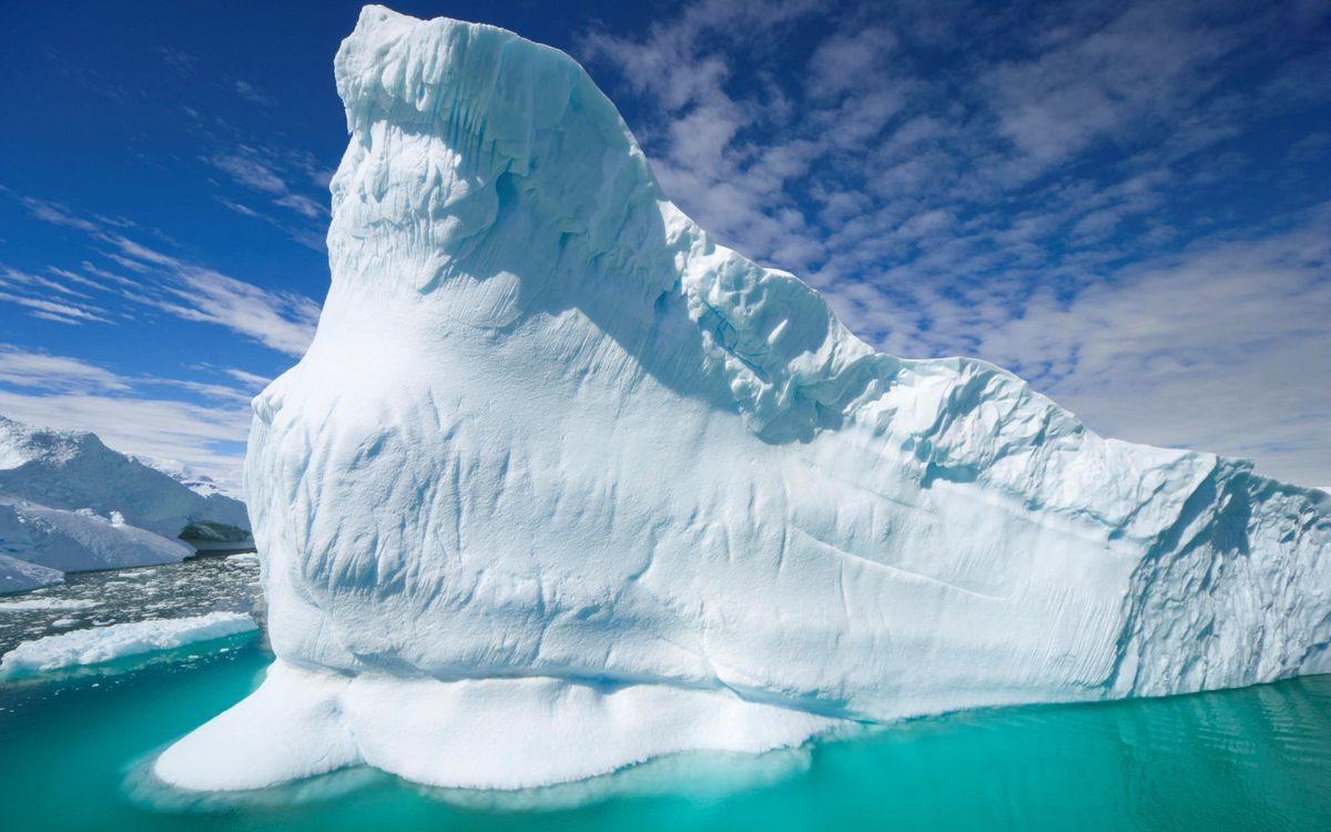 Фото бесплатно айсберг, снег, лед - на рабочий стол