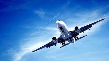 Заставки боинг, самолет, пассажирский, крылья, посадка, небо, авиация