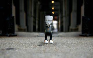 Фото бесплатно человек, игрушка, голова
