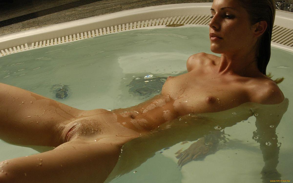 Фото бесплатно девушка, обнажённая, ванная - на рабочий стол