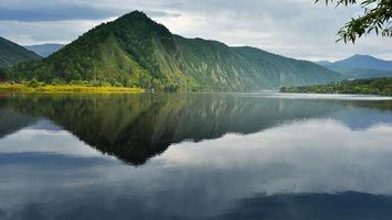 Бесплатные фото гора,лес,деревья,отражение,озеро,вода,волны