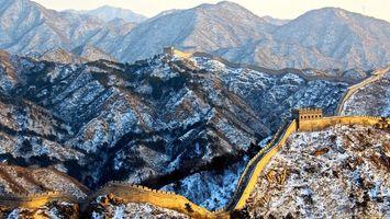Фото бесплатно снег, горизонт, высота