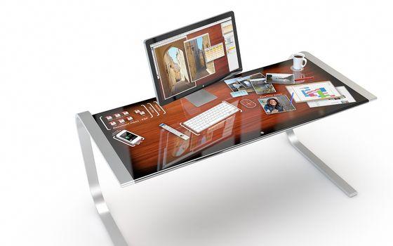Бесплатные фото крышка,ножки,телефон,монитор,клавиатура,кофе,чашка,блюдце,мышка,ручка,hi-tech