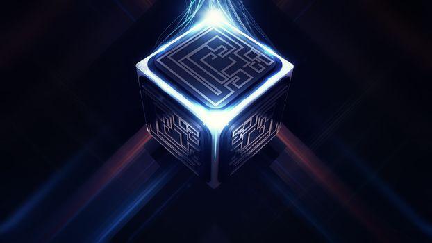 Заставки куб, квадрат, стороны